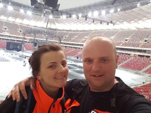 Stadion Narodowy Gala Boksu obstawa medyczna